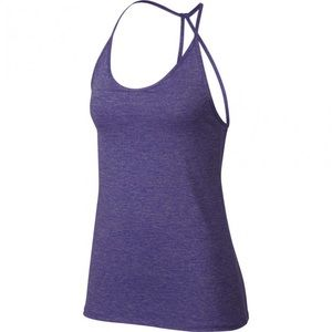 dri-fit purple tank | NIKE